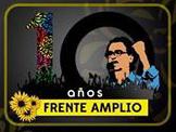 Frente Amplio celebra sus primeros 10 años de lucha, coherencia y dignidad