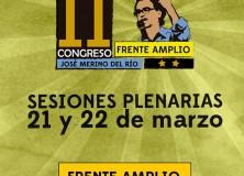 Comunicado Frente Amplio II Congreso Jose Merino del Río